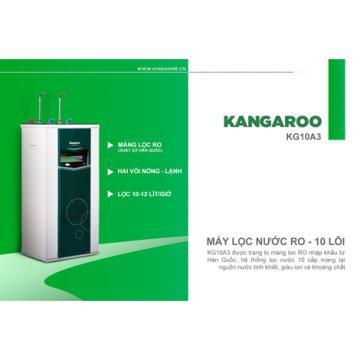 Siêu giảm giá máy lọc nóng lạnh RO 10 lõi Kangaroo KG10A3