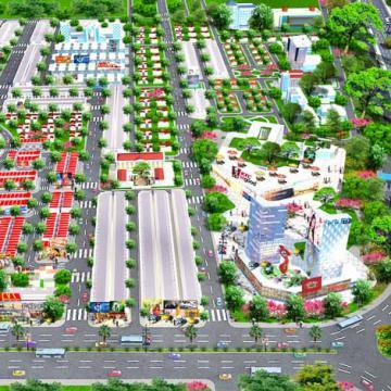 Địa ốc vùng ven - Long Thành chiếm ưu thế lớn