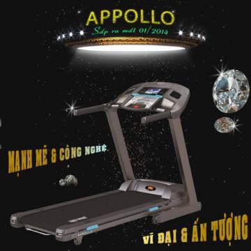 Máy chạy bộ điện Kingsport Appollo Treadmill 2014
