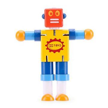 Đồ chơi bằng gỗ Bộ Cậu bé người máy Winwintoys 64052