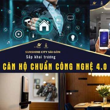 Sắp khai trương căn hộ chuẩn công nghệ 4.0 tại TP.HCM