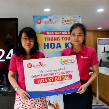 Tour Hoa Kỳ lần 3 của Du lịch Việt đã có chủ