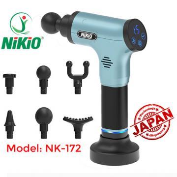 Máy massage cầm tay sử dụng pin sạc Nikio NK-172