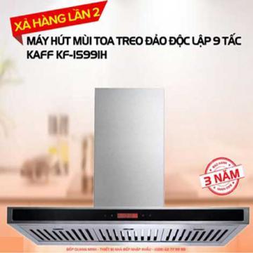 Máy hút mùi bếp treo đảo độc lập KAFF KF-IS991H