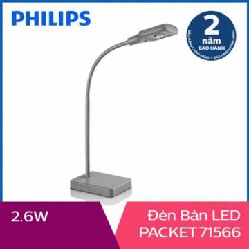 Đèn bàn, đèn học chống cận Philips LED Packet 71566 2.6W