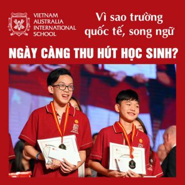 Vì sao trường quốc tế, song ngữ ngày càng thu hút học sinh