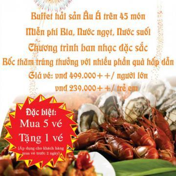 Tiệc Buffet hải sản tại khách sạn Kim Đô