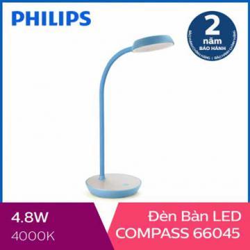 Đèn bàn, đèn học chống cận Philips LED Compass 66045 4.8W
