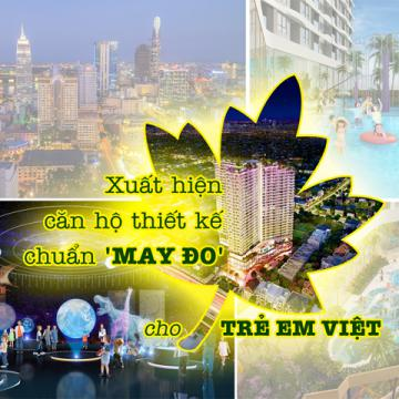 Xuất hiện căn hộ thiết kế chuẩn may đo cho trẻ em Việt