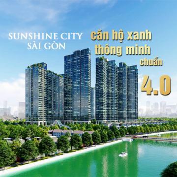 Sunshine City Sài Gòn - căn hộ xanh thông minh chuẩn 4.0