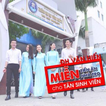 ĐH Văn Hiến miễn tiền ăn, nhà trọ cho tân sinh viên