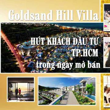 Goldsand Hill Villa hút khách đầu tư TP.HCM trong ngày mở bán