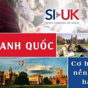 Anh Quốc - Cơ hội du học nền giáo dục hàng đầu