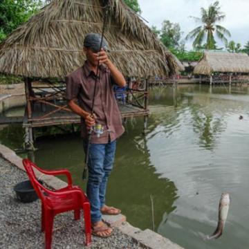 Hồ câu cá Gia Bảo - Điểm đến lý tưởng cho các cần thủ