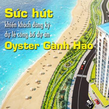 Sức hút khiến khách đăng ký dự lễ công bố dự án Oyster Gành Hào