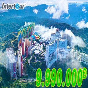 Du lịch Singapore, Indonesia, Malaysia giá chỉ còn 9,99 triệu