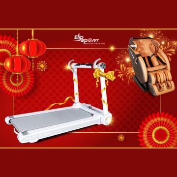 Tặng máy chạy bộ khi mua ghế massage Elip vào ngày 31.12 và 1.1