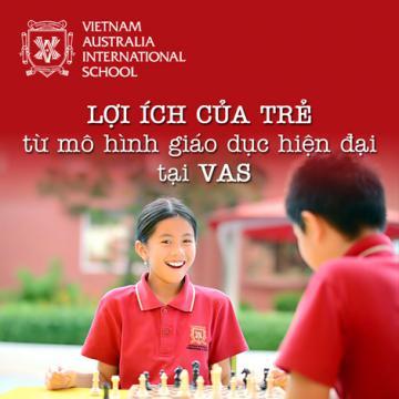 Lợi ích của trẻ từ mô hình giáo dục hiện đại tại VAS