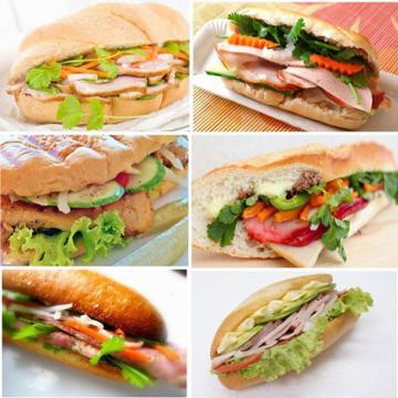 Độc đáo bánh mì tự chế biến