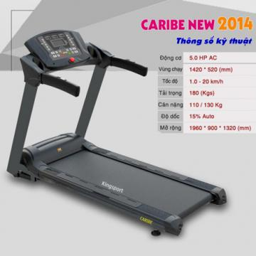 Máy chạy bộ điện Kingsport Caribe Treadmill