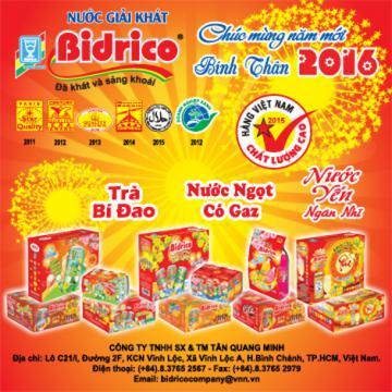 BIDRICO là món quà Tết Việt ý nghĩa