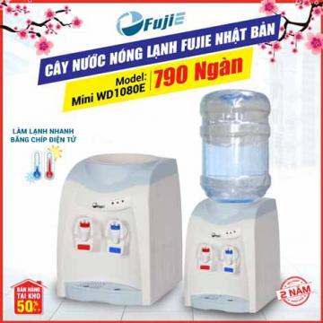 Cây nước nóng lạnh 2 vòi để bàn mini FujiE WD1080E