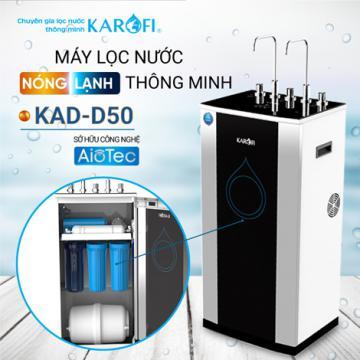 Máy lọc nước RO nóng lạnh 2 vòi KAROFI KAD-D50