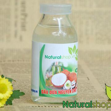Dầu dừa nguyên chất Naturalshop 250ml