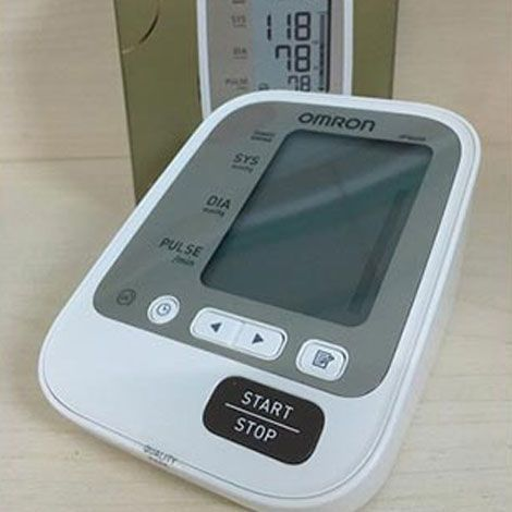 Máy đo huyết áp bắp tay Omron JPN600 Nhật Bản