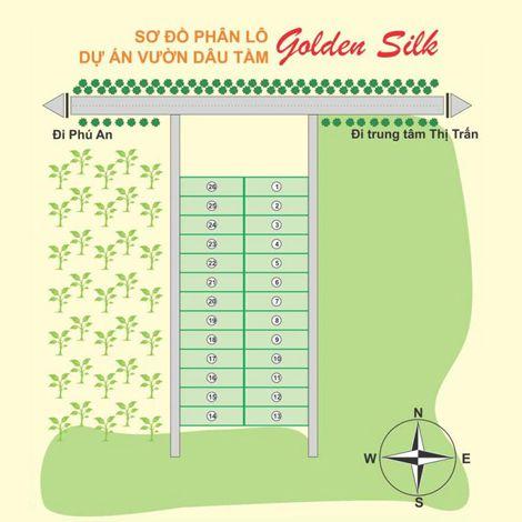 Dự án vườn dâu Golden Silk Đồng Nai