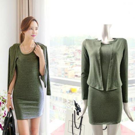 Đầm len tăm quyến rũ DW05
