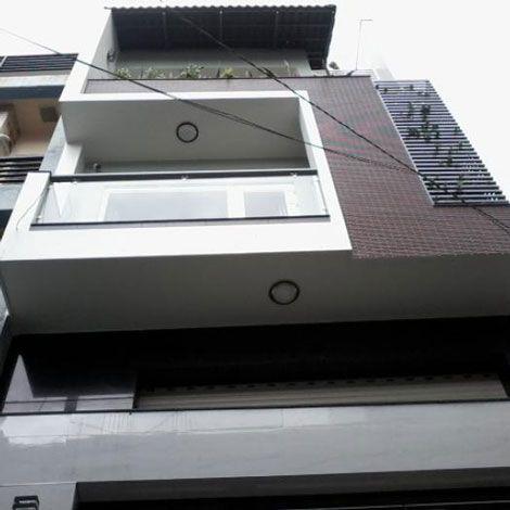 Nhà mới hẻm 5m đường Đất Thánh quận Tân Bình
