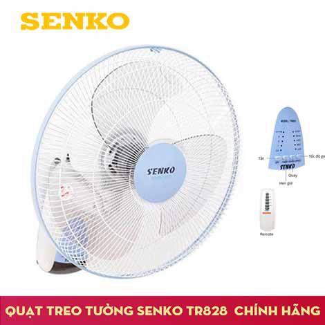 Quạt treo tường Senko TR-828 điều khiển bằng remote