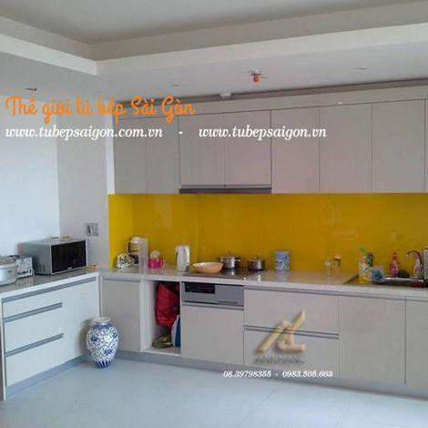 Tủ bếp giúp tăng thêm nét đẹp ngôi nhà