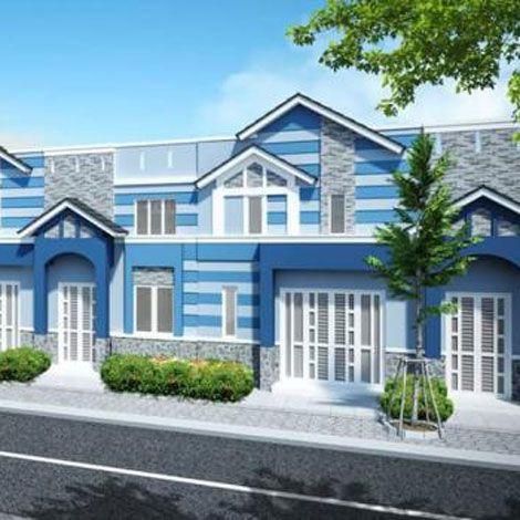 Căn hộ mới xây ngoại thành giá rẻ