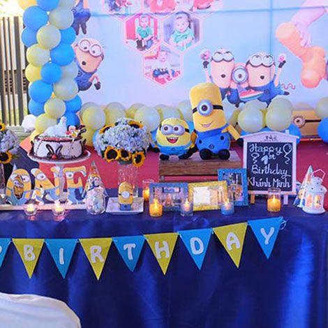 Cửa hàng cung cấp phụ kiện trang trí sinh nhật