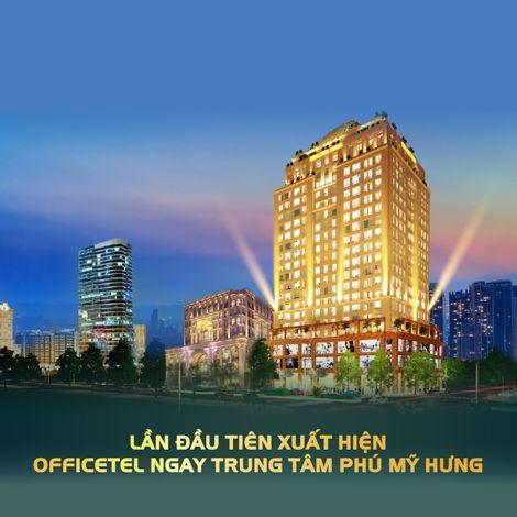 Xuất hiện officetel ngay trung tâm Phú Mỹ Hưng