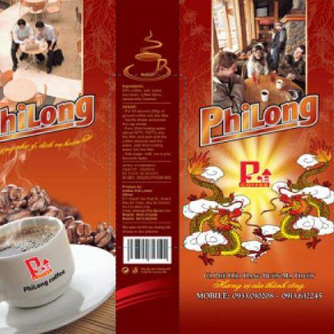 Cà phê rang xay nguyên chất Phi Long