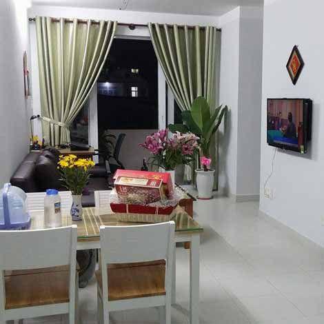 Cho thuê nhà chung cư Quang Thái, nội thất đầy đủ