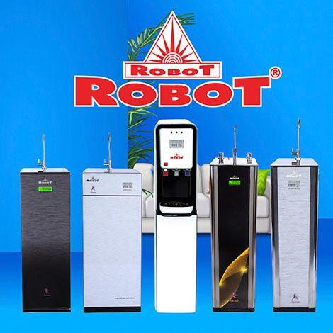 Siêu phẩm lọc nước tích hợp UF, R.O, màn hình LCD duy nhất ở ROBOT