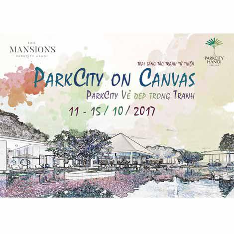 ParkCity Hanoi tổ chức trại sáng tác tranh từ thiện