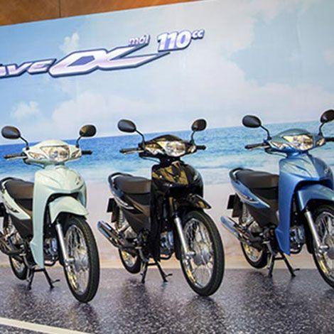 Honda VN giới thiệu Wave Alpha 110cc phiên bản mới