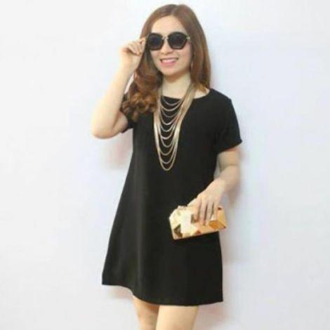 Đầm suông Black