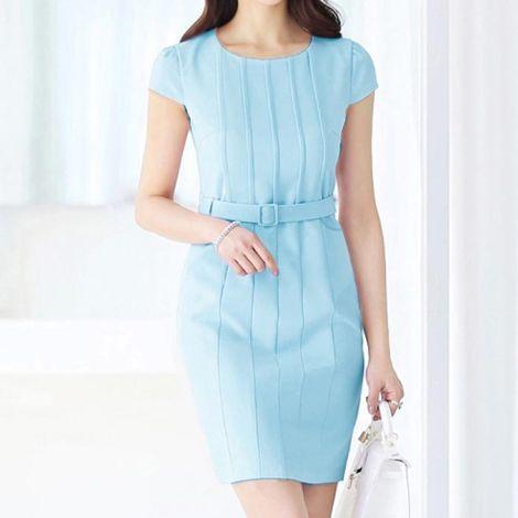 Đầm công sở kiểu dáng Hàn Quốc DW061