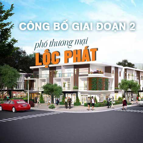 Công bố giai đoạn 2 phố thương mại Lộc Phát