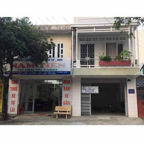 Cho thuê nhà trên đường Huỳnh Việt Thanh, P.2, Tp.Tân An