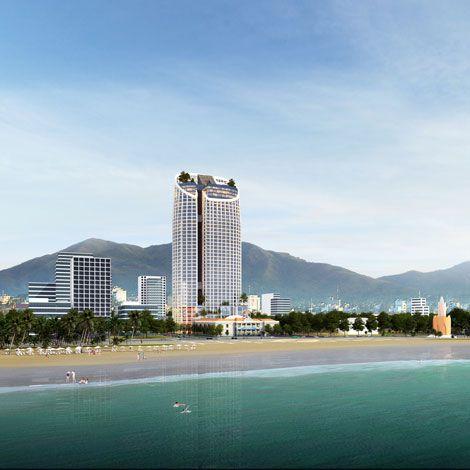 Trải nghiệm hồ bơi vô cực đáy kính tại Panorama Nha Trang