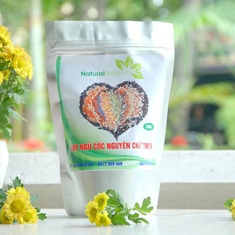 Bột ngũ cốc nguyên chất Naturalshop khuyến mãi