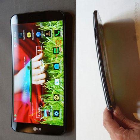 Điện thoại Hàn Quốc LG G Flex