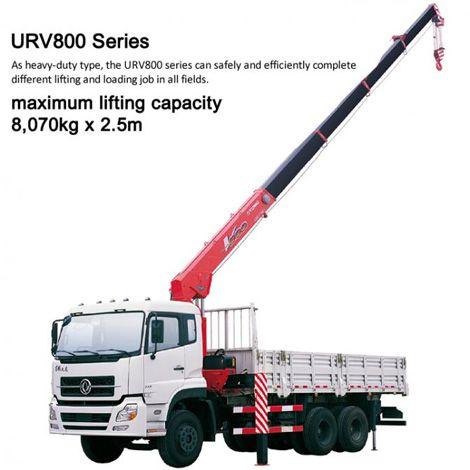 Cẩu Unic 8 tấn - Unic V800 Series nhập khẩu